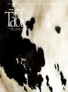 Valley Table magazine