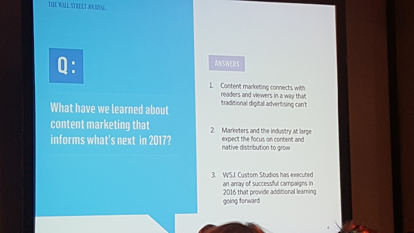 Content Marketing Case Studies Presented at the New York