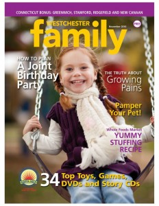 Westchester Family Magazine - November 2010